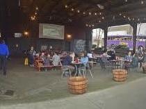 Asheville Brewing Covid friendly patio